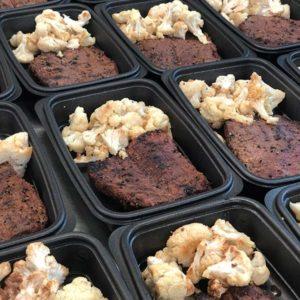 Grilled Steak and Cauliflower
