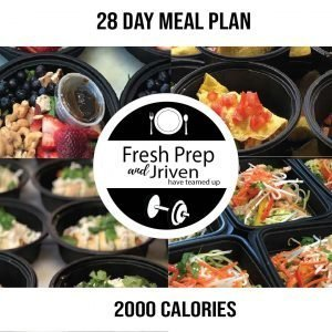 Fresh Prep 2000 Calorie Program